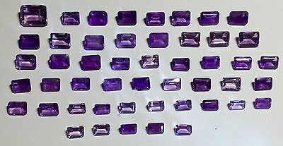 Natural Gemstones from Gold Scrap Recovery, 55 Carats
