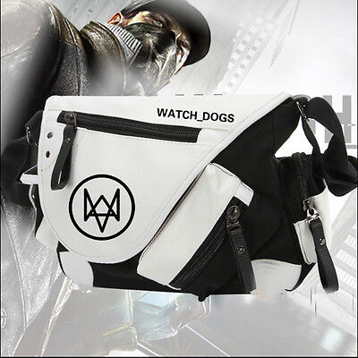 Watch Dogs 2 Holloway Cosplay Shoulder Bag Casual CrossBody Bag