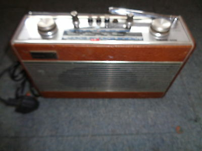 Roberts R606-Mb Vintage Radio Vhf (Fm) Mw Lw Tested Working Includes Mains Lead
