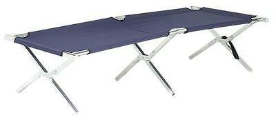 Aluminium Single Folding Camp stretcher with bag