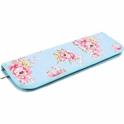 Hobbycraft Beautiful Bloom Knitting Needle Case Pin Storage Organiser Holder