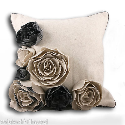 Riva Paoletti Kintyre Wool Natural Cushion Cover
