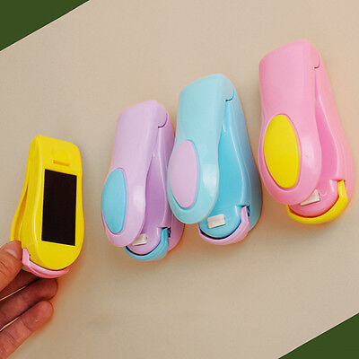 Portable Mini Heat Sealing Machine Impulse Sealer Seal Packing Plastic Bag Top