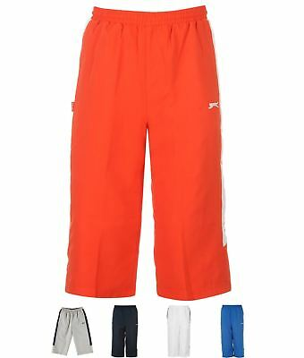 GINNASTICA Slazenger Three Quarter Woven Pantaloni corti Junior Boys Red