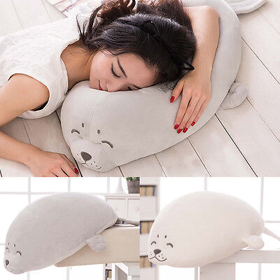Super Soft Plush Doll Toy Stuffed Animal Seal Pillow Bolster Gift 50cm 20""