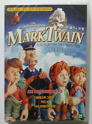 The Adventures of Mark Twain (1986 - Will Vinton, James Whitmore)  DVD NEW