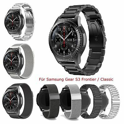 Stainless Steel Wrist Strap Band Bracelet For Samsung Gear S3 Frontier / Classic