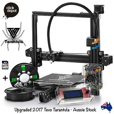 TEVO TARANTULA-PRUSA i3 3D PRINTER DIY KIT+2 FILAMENTS+8GB CARD (LARGE BED)