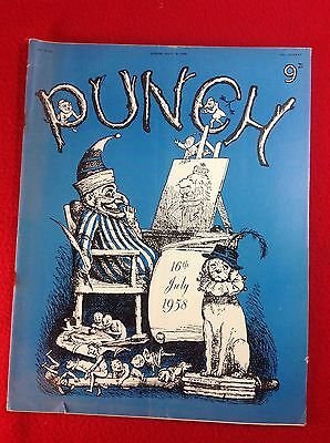 Vintage : PUNCH Magazine : 16th July 1958