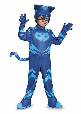Disguise Catboy Deluxe Toddler PJ Masks Costume, Medium/3T-4T [17159M] NEW