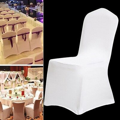 1 10 20 50 100 spandex folding seat chair covers wedding dining