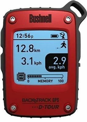 Bushnell BackTrack D-Tour personal GPS Tracking Device - Red