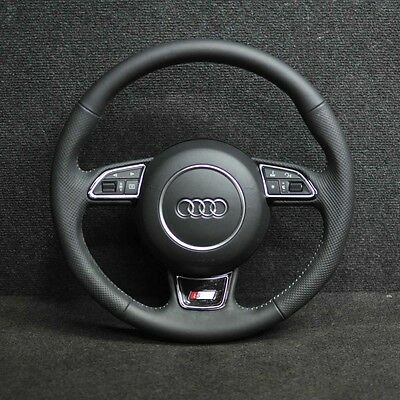 Audi A6 C7 S-Line Steering Wheel 3 Spokes With Airbag 2012