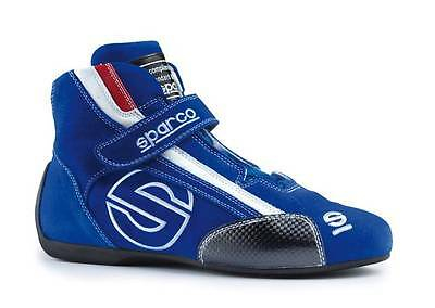 Sparco Formula SL-7 FIA Approved Race/Rally Boots/Shoes Size UK 5.5 EU 39 Blue