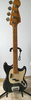 Bajo Fender Mustang Bass 1976 Made in USA