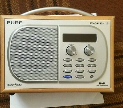 Pure Evoke 1S DAB, AM/FM Radio