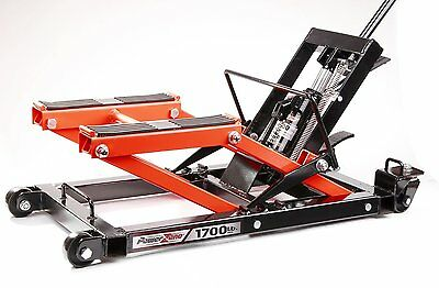 Motorcycle Jack Lifts Hydraulic for ATV Bike Stand Safety Equipment Heavy Duty