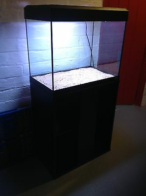 Fish Tank 90 Litres Fluval with Wood Stand