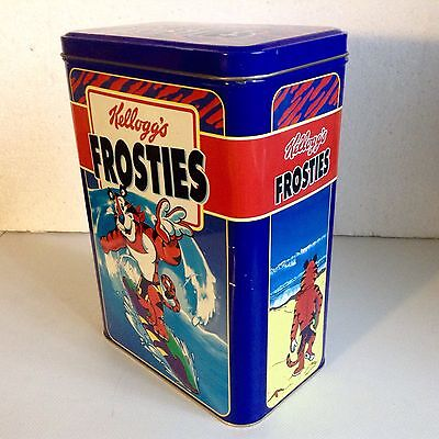 Retro Kellogg's Frosties Storage/cereal Tin. 1999. Used.