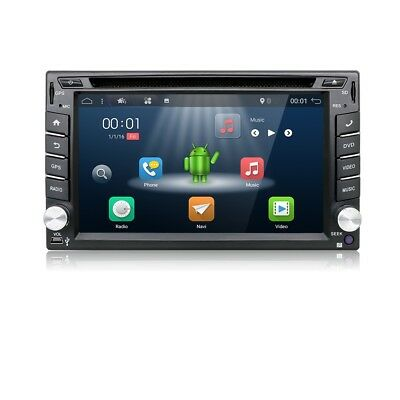 Double 2 Din Car Stereo Radio DVD Player GPS NAV Bluetooth USB+Camera+AU MAPS