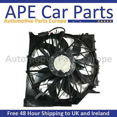 BMW E83 X3 Engine Radiator Cooling Motor Fan Assembly 17113442089 17113415181