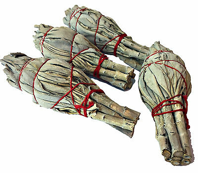 Californian White Sage Smudge Sticks  Smudging Wands Multi  Quantity Listing