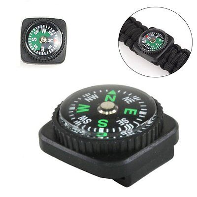 2016 Bracelets Rope Compass Slip Slide on Watch Band Wrist For Survival Paracord