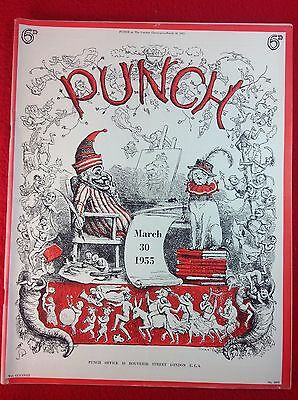 Vintage : PUNCH Magazine : 30th March 1955
