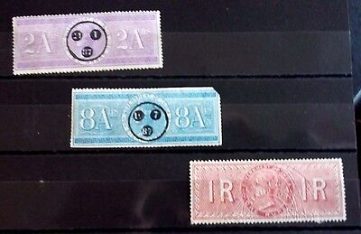 Early  Victorian  India   Fiscal  Revenue  Stamps...used--Mint