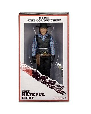 """NECA The Hateful Eight Joe Gage 'The Cow Puncher' 8"""" Clothed Action Figure"""