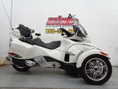 Can-Am Spyder RT Limited  2012 Can Am Spyder RT SE5 Limited trike touring financing shipping