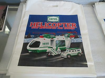 HESS BAGS - LOT 0F 69 BAGS FOR THE 2001 HELICOPTER-Motorcycle & Cruiser