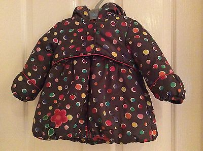 Oilily Girls Winter Puffer Coat /Jacket Age 12/18mths