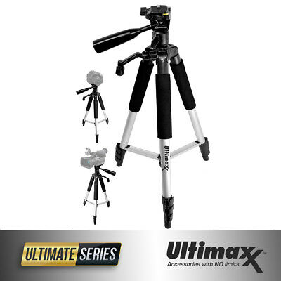 Professional 57-inch Tripod 3-way Panhead Tilt Motion For All Cameras!! NEW!!