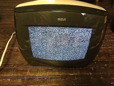 Vintage RCA Television TV w/ Removable Screen Model E09305WH