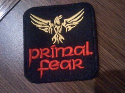Primal Fear,sew On Yellow And Red Embroidered Patch