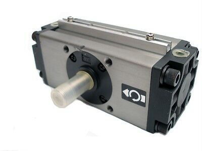 New SMC Rotary Actuator NCDRA1BW50-100 Rack & Pinion, Standard Rail Mount