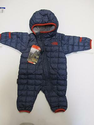NEW INFANT THERMOBALL™ BUNTING WINTER PLUSH AND SOFT CRX9 csmcbludenimprt