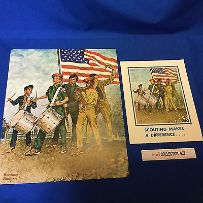 """Boy Scout Norman Rockwell Poster & Flyer - Poster 14'x17"""""""
