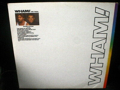 2 LP promo WHAM the final SPANISH 1986 PROMOTIONAL VINYL DOUBLE GEORGE MICHAEL