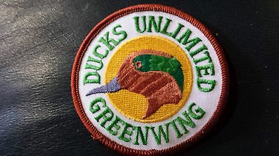 Vintage Ducks Unlimited Greenwing Patch