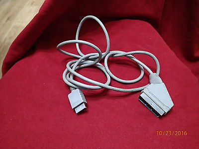sony playstation ps1/2/3  scart lead