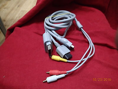PS3, Wii & Xbox360 Console To Tv Lead 3 WAY