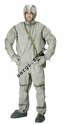 NBC Russian chemical protection rubber Suit L-1 for GP-5/GP-7/GP-9 Full sett new