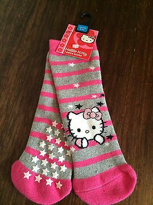 Hello Kitty Slipper Socks from Next, 9-12, New