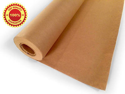 "Kraft Paper Jumbo Roll Packing Wrap Craft Butcher Mail Brown 30"" x 1200"" 100ft"