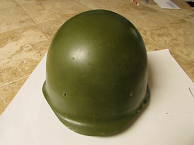 Military Steel WWII Military Helmet With Liner & chin stap, Russian SSH40