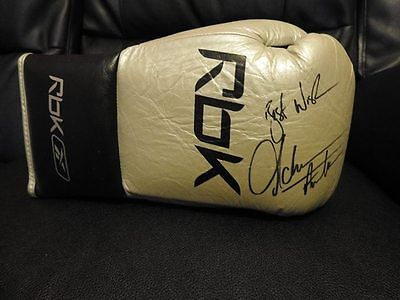 Amir Khan Used And Worn Boxing Glove