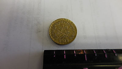 Morocco Maroc Star 10 Francs 1371 Circulated Coin Africa