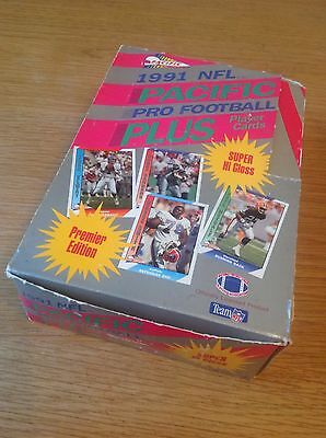 UNOPENED Box 1991 Pacific Pro NFL American Football TRADING CARDS